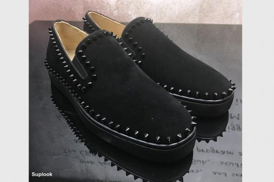(WU$140 Pls contact Whatsapp+8618559333945 to make order ) Christian Louboutin Black Low