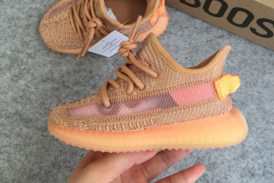 (WU$100) Yeezy Boost 350 v2 Clay Infant