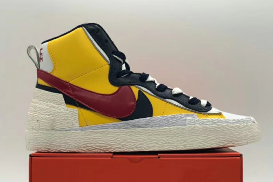 (WU$150) Nike Blazer High sacai Snow Beach