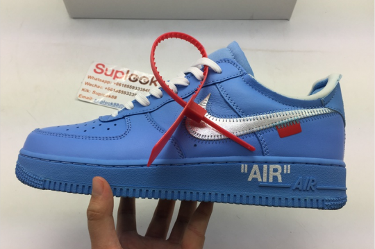 (GOD VRSION) Off-White x Nike Air Force 1 MCA