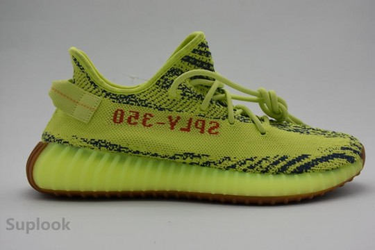 "HP Version Yeezy Boost 350 V2 ""Semi Frozen Yellow"" FREE SHIPPING WORLDWIDE"