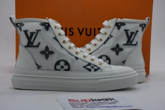 Stellar high-top L-V sneakers