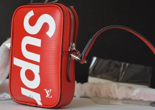 (WU$170 pls contact whatsapp/wechat +8618559333945 before order) Supreme Mini Shoulder Bag Red FREE SHIPPING WORLDWIDE