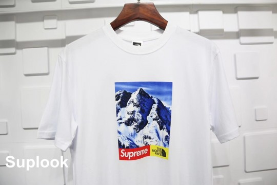 (WU$100 pls contact Whatsapp+8618559333945 to check size before order) Supreme T Shirt White