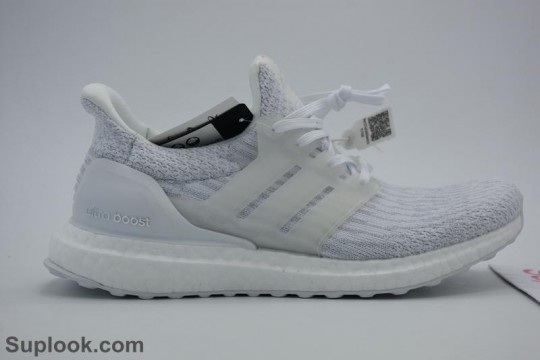 ULTRA BOOST 3.0 TRIPLE WHITE WITH REAL BOOST FREE SHIPPING WORLDWIDE