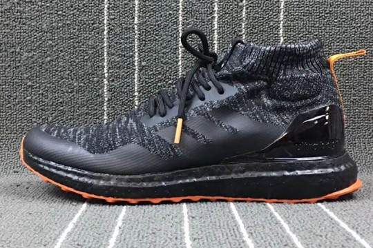Ultra Boost Black Orange FREE SHIPPING WORLDWIDE