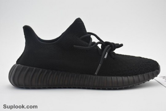Yeezy 350 Boost V2 Triple Black FREE SHIPPING WORLDWIDE